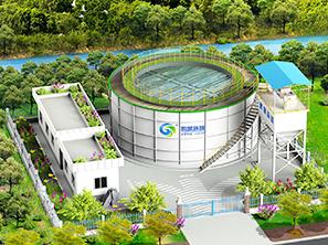 足球糖球直播圆-模块化(装配式)污水处理系统